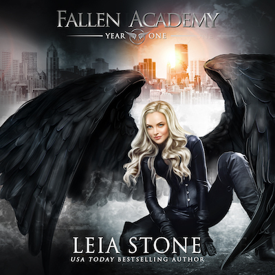 Year One audiobook by Fallen Academy Series