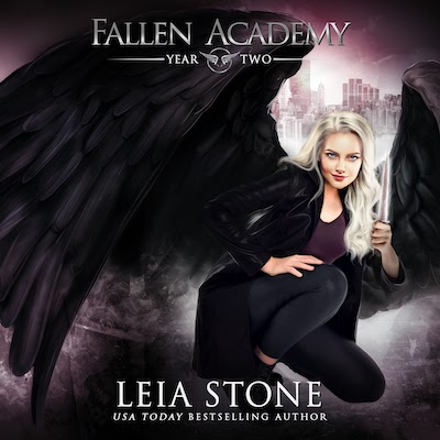 Year Two audiobook by Fallen Academy Series