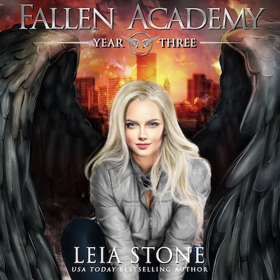 Year Three audiobook by Fallen Academy Series